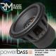 "Powerbass 3XL-1510D - 15"" Dual 1-Ohm Subwoofer 3000 Watts Max Power"