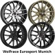 "Wolfrace Eurosport Munich 8.5x18"" Alloy Wheels"