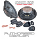 "Ground Zero GZRC 165NEO 6.5"" 16.5cm 2 way slim fit car component speakers"