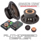 "Ground Zero GZUC 650SQ-II 6.5"" 16.5cm 2 way car component speakers"