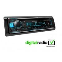 Kenwood KDC-BT710DAB Car Radio Stereo DAB+ CD MP3 USB BT Digital iPod iPhone