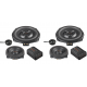 Match 3 way Component speaker upgrade to fit BMW Vehicles