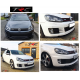 GENUINE Triple R Front splitter to fit VW Golf Mk6 GTi and GTD