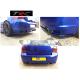 GENUINE Triple R rear bumper spats splitters to fit VW Golf Mk4 R32